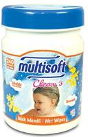 Multisoft Clean's Silindir Ambalajlı Islak Mendil 240 lı Paket