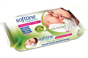 Softline Fresher Zeytinyağ Katkılı Islak Havlu