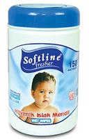 Softline Bebek Bakım ve Temizlik Islak Mendili 150 li Paket