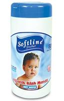 Softline Bebek Bakım ve Temizlik Islak Mendili 80 li Paket
