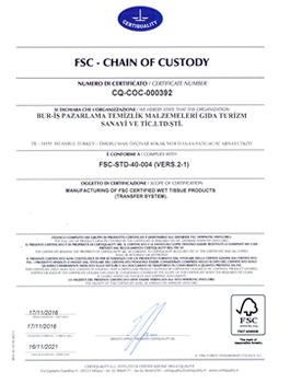 Bur-İş FSC Sertifikası