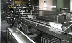 Bur-İş Islak Mendil Makinası Yakın Plan