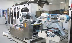 Bur-İş Full Otomatik Islak Mendil Üretim Makinası