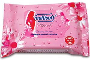 Multisoft Clean's Genital Bölge Temizleyici Islak Mendil