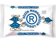 Private Label Mavi Islak Cep Mendili