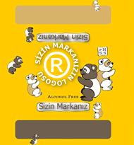 Sizin Logonuz Burada Sarı Islak Mendil Private Label